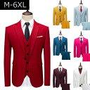 結婚式メンズ セットアップテーラードジャケット メンズ セットアップ 上下セット メンズスーツ フォーマル スリム 大きいサイズ スーツ 春物 春夏 スリーピーススーツ メンズ 二次会 パーティー セットアップスーツ 紳士服 就活 スーツ・・・