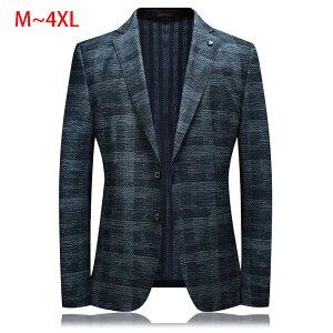 テーラードジャケット メンズ ジャケット 春 夏 グレー チェック柄 ビジネス 紳士 ビジネス 紳士 父の日 大きいサイズ 細身 40代 50代 60代 春夏 コート 男性
