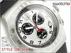 Swatch IRONY THE CHRONO スウォッチ アイロニー クロノグラフ メンズ腕時計 STYLE DRIVER YOS4...