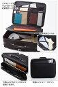 【PHILIPE LANGLET】 フィリップラングレー アタッシュケース メンズ 豊岡製鞄 日本製 ナイロン ブラック 21138-1 2