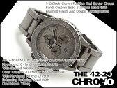 【NIXON】ニクソン メンズ腕時計 THE 42-20 CHRONO 42-20クロノ オールロウスティール A0371033【ネコポス不可】