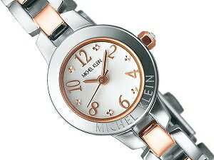 MICHELKLEINミッシェルクランSEIKOセイコーレディース腕時計シルバーピンクゴールドAJCK021