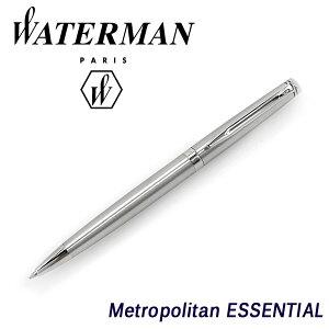 WATERMANウォーターマンメトロポリタンエッセンシャルボールペンステンレススチールCTWM-METROPES-BP-SSC