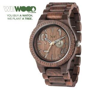 【WEWOOD】ウィウッド腕時計ウッド/木製マルチファンクションOBLIVIOCHOCOLATE9818082