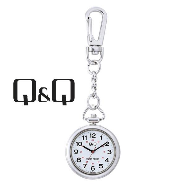 ネコポス  1年保証 シチズンCITIZENQ&Qキューキューポケットウォッチクオーツ懐中時計QA72-204