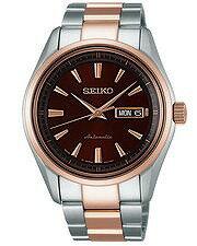 【SEIKOPRESAGE】セイコープレザージュ自動巻き手巻き付メンズ腕時計SARY056