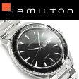【HAMILTON】ハミルトン ジャズマスター シービューデイデイトクォーツ メンズ 腕時計 アナログ ブラックダイアル ステンレスベルト スイス製 H37511131【あす楽】