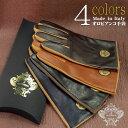 【ネコポス送料無料】 【Orobianco】オロビアンコ イタリア製 選べる4カラー 2サイズ メンズ手袋 羊革 ブラック×モカ ダークブラウン×キャメル ライトブラウン×キャメル ネイビー×キャメル ORM-1531