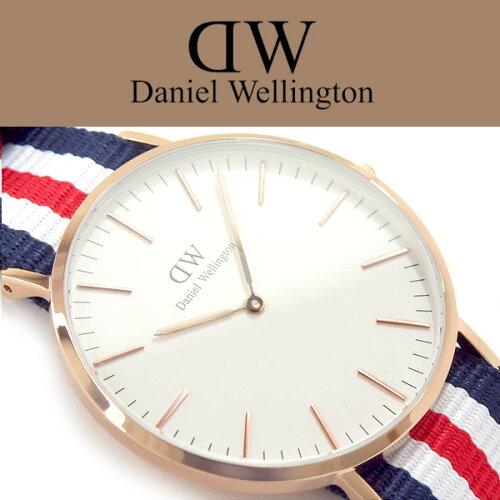 ダニエルウェリントン Daniel Wellington クラシック カンタベリー 40mm クォーツ ユニセックス 腕...