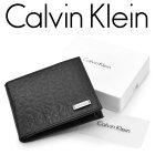【CalvinKlein】カルバンクライン財布ウォレットメンズ二つ折り財布小銭入れ付きブラック79393-BK
