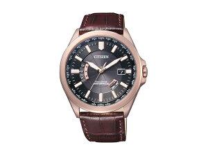 【CITIZENCOLLECTION】シチズンシチズンコレクションエコ・ドライブ電波メンズ腕時計ブラックダイアルCB0012-07E