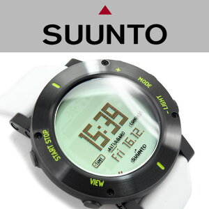 【SUUNTOCORECRUSH】スントコアクラッシュアウトドアウォッチ高度計・気圧計・電子コンパス搭載デジタル腕時計SS020690000
