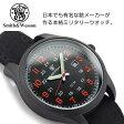 スミス&ウェッソン カデットシリーズ クォーツ メンズ腕時計 ブラック クロスベルト SWW-369-OR【送料無料】【ネコポス不可】