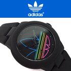 adidasoriginalsアディダスオリジナルスABERDEENアバディーンメンズレディース腕時計ADH3014ブラックマルチカラー【あす楽】