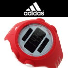 adidasアディダスQUESTRAXLクエストラメンズレディーススポーツウォッチ腕時計ADP3134レッドグレー【あす楽】