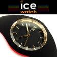 ICE WATCH アイスウォッチ ice loulou アイスルールー ブラック ゴールド 黒 金 ミディアム 40mm バイカラー クォーツ 腕時計 レディース ICE-007235 送料無料 【国内正規品】【あす楽】