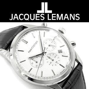 【JACQUESLEMANS】ジャックルマンKevinCOSTNERクォーツメンズアナログ腕時計KC-103A