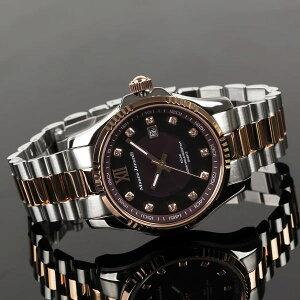 【MauroJerardi】マウロジェラルディソーラーシリーズメンズ腕時計チョコダイアルMJ037-1