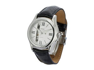 【STAG】スタッグExecutiveLineメンズ腕時計ホワイトダイアルSTG003S2