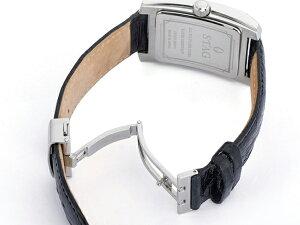 【STAG】スタッグBusinessLineメンズ腕時計ブラックダイアルSTG005S2