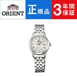 【Orient】オリエントワールドステージコレクションメカニカルWORLDSTAGECollection日本製自動巻手巻き付レディース腕時計ホワイト文字盤シルバーWV0591NR