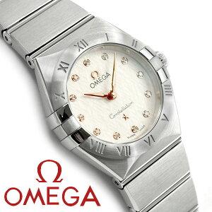 OMEGA オメガ コンステレーション クォーツ 25MM レディース腕時計 131.10.25.60.52.001