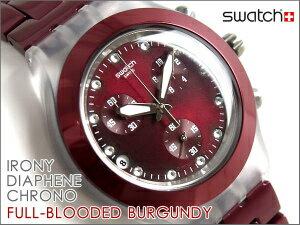 Swatch IRONY スウォッチ アイロニー メンズ腕時計 FULL BLOODED BURGUNDY SVCK4054AG【Swatch ...