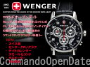 シリアルナンバー入り限定復刻モデル!!スイス製【WENGER】ウェンガーメンズ腕時計コマンドオー...
