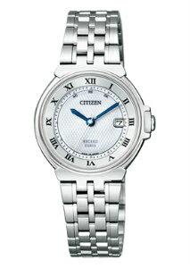 【CITIZENEXCEED】シチズンエクシードレディース腕時計35周年記念モデルエコドライブ電波時計パーフェックスソーラーMOPダイアルシルバーES1030-56A【送料無料】【正規品】※11月下旬発売予約販売