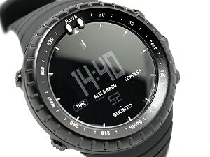 【SUUNTOCORE】スントコアアウトドアウォッチデジタル腕時計オールブラックSS014279010