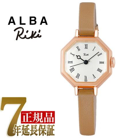 セイコー アルバ リキ SEIKO ALBA Riki 八角形 クラシック クオーツ レディース 腕時計 AKQK457