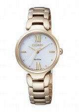 【CITIZENCOLLECTION】シチズンコレクションレディース腕時計エコドライブソーラーゴールドEM0023-54A【送料無料】【正規品】