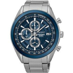 【逆輸入SEIKO】セイコー SEIKO クロノ クオーツ メンズ 腕時計 SSB177P1 ブルー