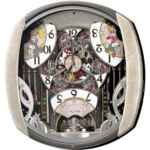 【SEIKO CLOCK】セイコー Disney ディズニー ミッキー からくり 電波掛時計 FW563A