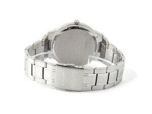 【逆輸入SEIKOSolar】セイコーソーラーメンズ腕時計ホワイトダイアルステンレスベルトSNE385P1