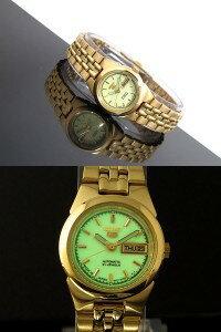 【日本製逆輸入SEIKO5】セイコーSEIKOセイコー5SEIKO5自動巻き腕時計SYMG60J1