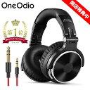 【レビュー特典あり】OneOdio Pro10 ヘッドホン マイク付き 有線……