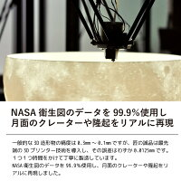 NASA衛生図に基づき月面のクレーターや隆起をリアルに再現