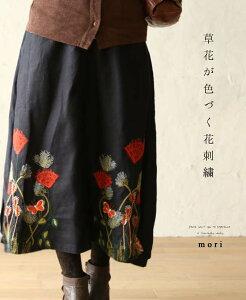 ネイビー スカート
