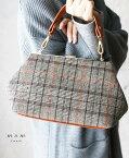 【再入荷♪1月10日12時&22時より】「FRENCH PAVE」レトロチェックの2wayバッグ