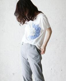 【再入荷♪8月31日12時&22時より】「pave」私に咲く1輪の花。トップス/Z2/Z4