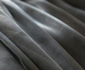 【再入荷♪9月26日12時&22時より】(ブラック)「pave」風になびく艶ブラックスカート