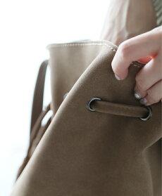 【再入荷♪9月26日12時&22時より】「french」アースカラーの巾着バッグ