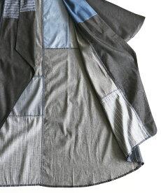 ▼▼「french」ラフに着こなすパッチワーク風な羽織りカーディガン9月23日22時販売新作