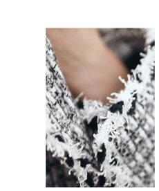「french」リュクスなツイードジャケットアウター9月25日22時販売新作