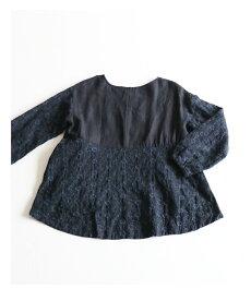 ▼▼「french」重なる裾の花刺繍トップス9月25日22時販売新作