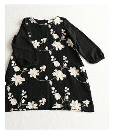 ▼▼「pave」白花刺繍の上品なワンピース10月31日22時販売新作