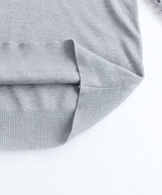 ▼▼(グレー)「frenchpave」トライバル刺繍とレースのシアーポワン袖トップス2月24日22時販売新作