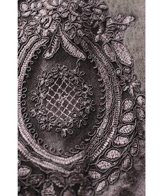 ▼(M~3L対応)(モカ)「FRENCHPAVEオリジナル」花レースのふわり袖。モヘアニットトップス□□□9月27日22時販売新作