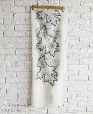 「french」刺繍とスタッズの素敵なストール3月13日22時販売新作
